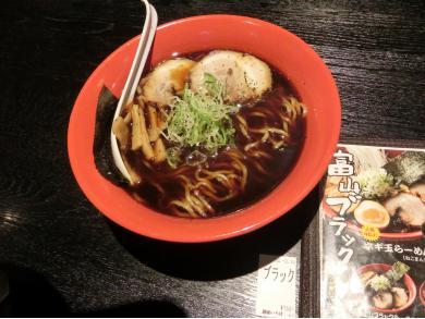 富山ブラック 麺家いろは 京都駅ビル店